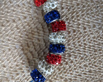 Jeweled European Beads