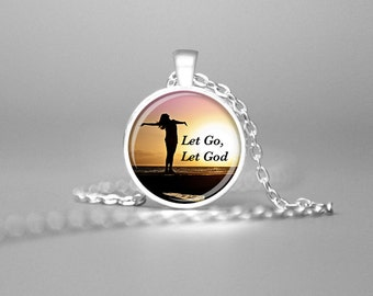 INSPIRATIONAL QUOTE PENDANT Motivational Quote Necklace Inspirational Quotes Jewelry Inspiring Quotes Spiritual Quotes Jewelry Christian