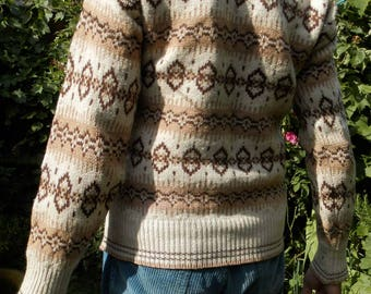Thick 1980s Wool Jumper (Pure Virgin Wool by Benetton)