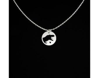 T Rex Necklace - T Rex Jewelry - T Rex Gift - Dinosaur Necklace - Dinosaur Jewelry - Dinosaur Gift - Tyrannosaurus Rex Necklace