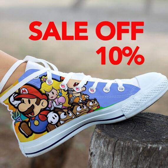 Luigi Converse Birthday Party Mario Mario Super Mario Shoes Custom Mario Super Converse Shoes Bros Sneaker Custom Super Mario Custom RaRq6TwO