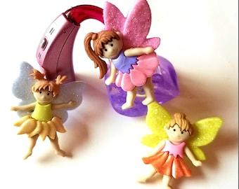 Tube Trinkets: Glittery Ballerina Fairies!  Select Quantity 2 for a pair!