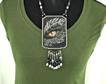 Dragon Shield Necklace