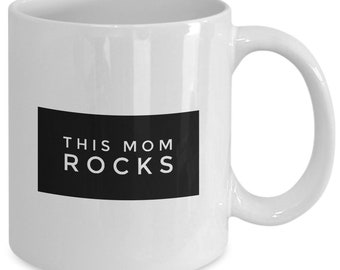 This Mom Rocks Mug