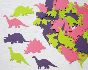 "Dinosaur Party Decoration, Dinosaur Confetti, Cutouts, Birthday Party, 1.5"" & 1.75"", Party Decoration, 100 Ct."