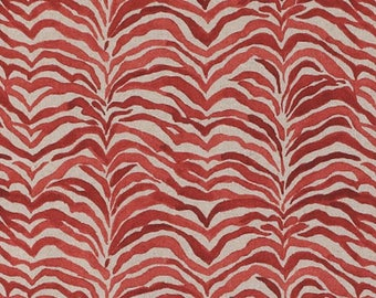 Serengeti Coral,Lacefield Fabric By The Yard