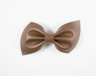 Brooke bow || Chocolate
