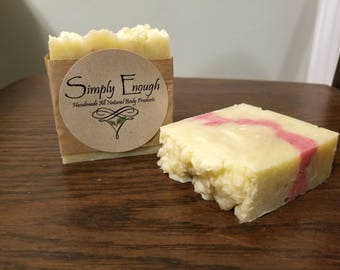 Handmade All-Natural Soap - Peppermint