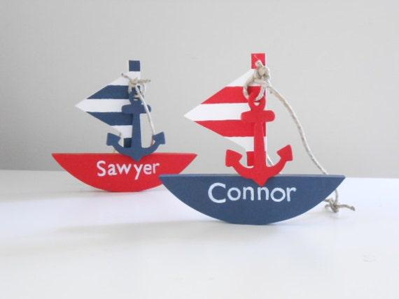 Sophisticated Modern Nautical Nursery: Items Similar To Modern Nautical Nursery