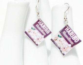 Earrings / sweet marshmallows