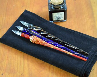 Murano Glass Dip Pen (One Pen, Choice of Colors)