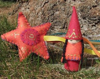 Magic wand & Gnome Set