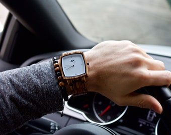 FREE ENGRAVING, Mens Watch, Watch for Men, Fathers Day Gift, Wood Watch, Wooden Watch for Men, Wooden Watch, Wood Watches, Mens Wrist Watch