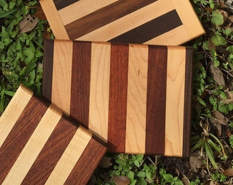 Handcrafted Wood Cutting Board - Beautiful Piece