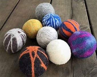 100% Wool Dryer Balls - Set of 4