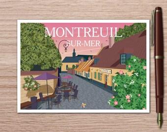 Postcard RUE DU CLAPE
