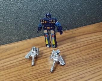 G1 Transformers Frenzy Mini Cassette Tape Complete Vintage Decepticon Toy Action Figure