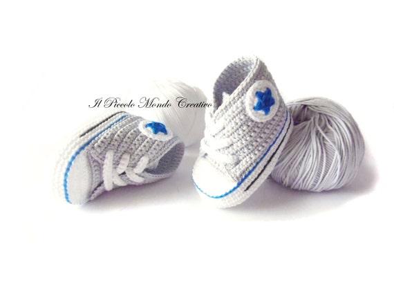 converse neonato 0 a 6 mesi blu