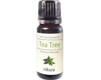 100% Pure Tea Tree Essential Oil 10ml