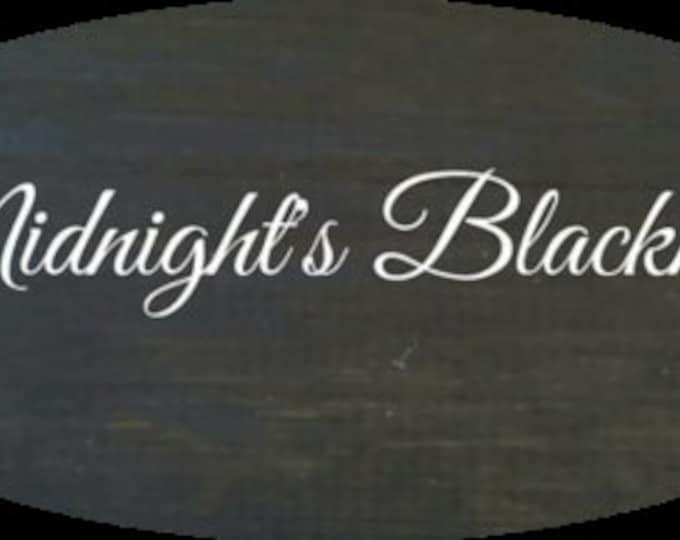 Unicorn SPiT 8 oz Gel Stain and Glaze in Midnight's Blackness