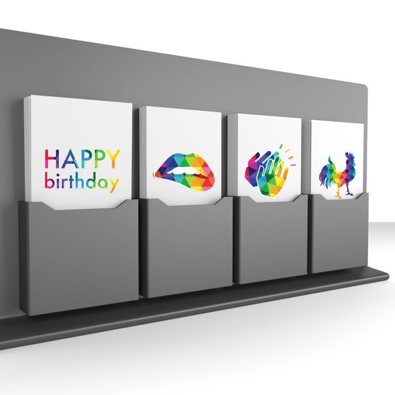 4-Pack Deal!  Colors of the Rainbow - Get Your Cards Today!