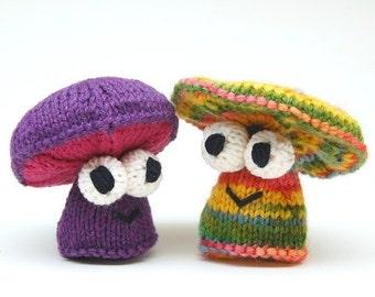Da Fungis Amigurumi Mushroom Knitting Pattern PDF Digital Download
