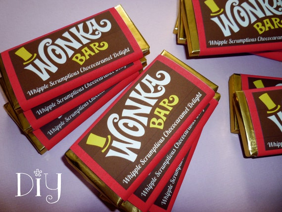 Charlie And The Chocolate Factory Etsy