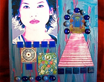 Heart of Grace original collage