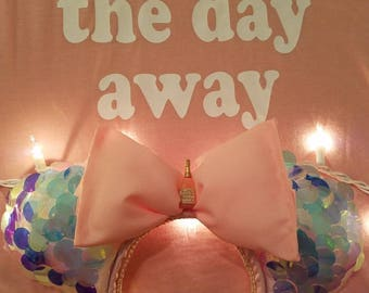 Pink Champagne Ears