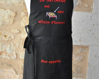 MAN BBQ apron is for men