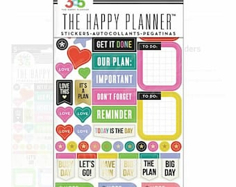 MAMBI Create 365 The Happy Planner Everyday Reminder Sticker Set PPS-66