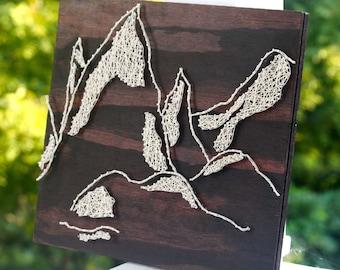 Mountain String Art | Window to the Mountains String Art