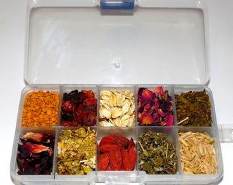 Chinvilla Chinchilla Organic Treat Assortment - 10 Treats!