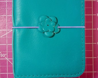 Traveler's Notebook (Deep Teal) READY-TO-SHIP in Pocket Size.