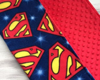 Last minute gifts st louis cardinals personalized baby superman ready to ship superman baby fleece blanket personalized blanket security negle Gallery