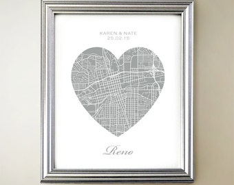 Reno Heart Map