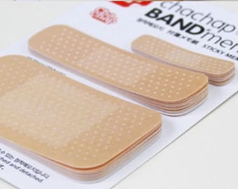 Band Aid Sticky Note Pads, Band Aid Sticky Notes, Band Aid Memo Pad, Nurses Gift, Doctors Gift, Medical Student Gift, Band Aid Pad, Note Pad