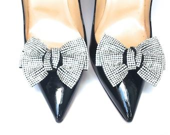 Rhinestone Wedding Shoe Clips