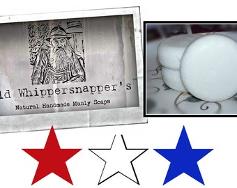 Old Whippersnapper's Shaving Cream Soap With Shea & Cocoa Butter
