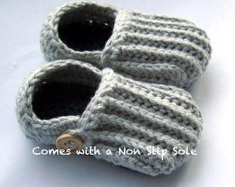 Chaussons enfant en bas âge, mocassins en coton, chaussons de kid / / beaucoup de tailles et de couleurs pour choisir l'un des / / fait avec un seul glissement Non