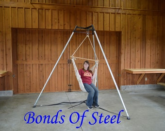 Bonds of Steel Portable Suspension Tripod Oversized Topper and New Style feet Mature