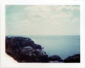 Polaroid Pinhole 8x10 - Lake Superior - Fine Art Photography