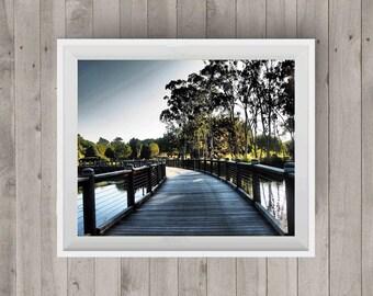 Bridge Landscape Photography Bridge Photo Digital Image Wall Art Downloadable Print