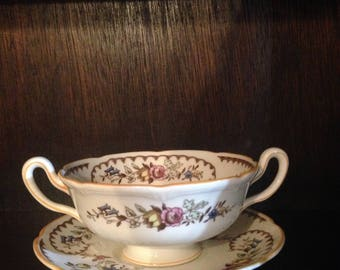 Royal Doulton The Beaufort Cup And Saucer Immaculate