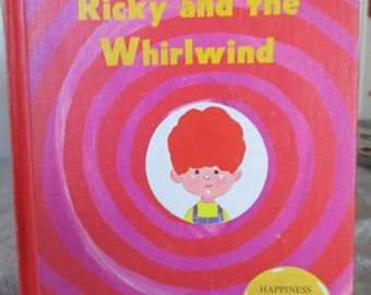 Ricky and the Whirlwind by Frances Fox 1970's HC Edition