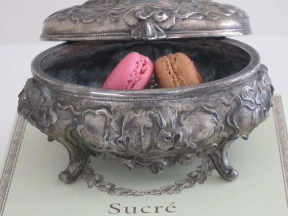 Art Nouveau Jewelry Casket Jewelry Box Silver Casket B W Co