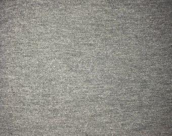 Medium to Charcoal gray knit fabric