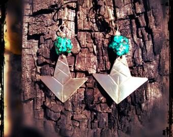 women warrior earrings