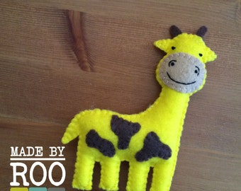 Savannah Babies Magnets-Giraffe