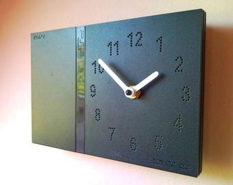 PlayStation 2 PS2 console PlayStation2 slim retro recycled video game console wall clock and table desk clock not only for men or gamer fan